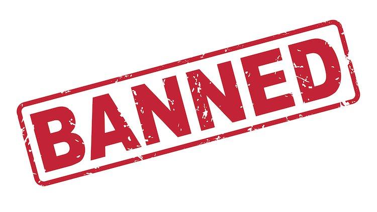 Ruckus Banned